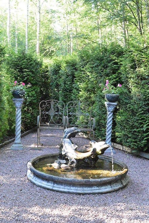 Torppa Puutarhassa - Torpet i trädgården